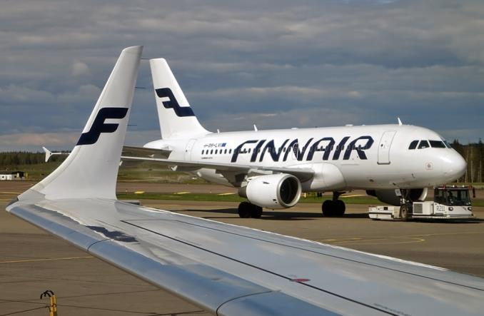 самолет Finnair