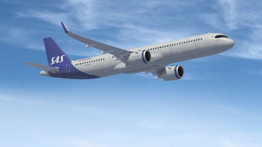 Компания SAS получит свой первый Airbus A321LR