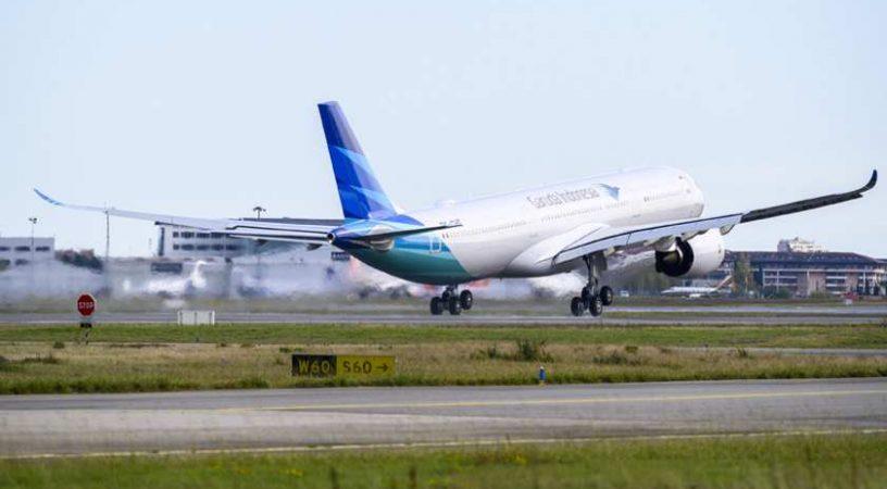 Garuda Indonesia получила свой первый самолет A330neo