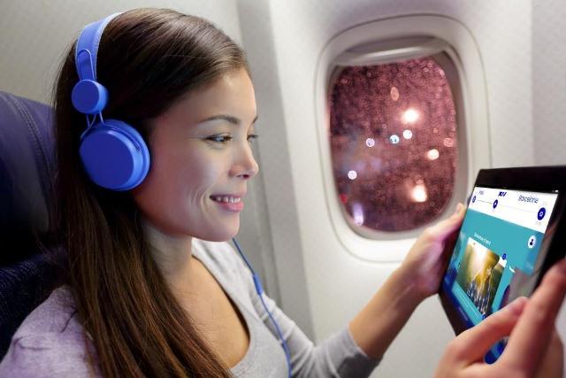 Бортовая развлекательная система (фото. Air France)