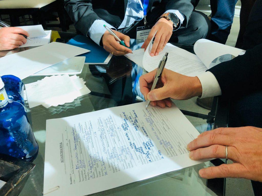 Подписание учредительных документов о создании SBAA