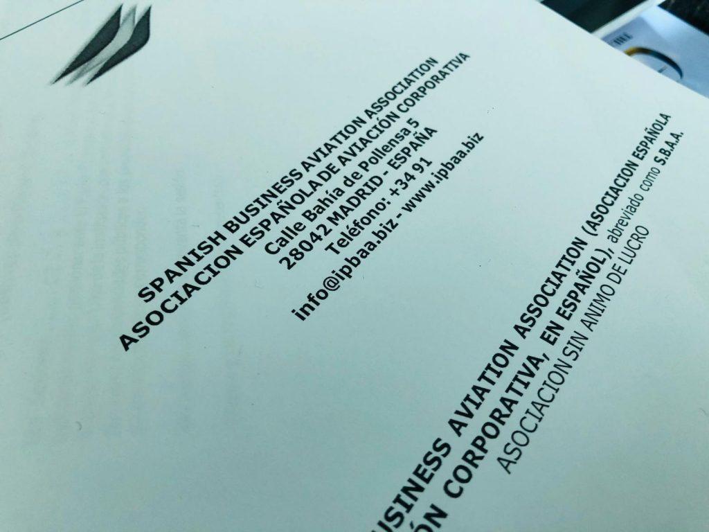 Устав Испанской Ассоциации Деловой Авиации #SBAA