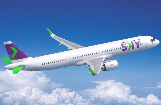 A321XLR для SKY Airline