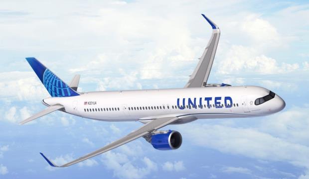 A321XLR  для United Airlines
