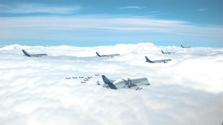 Самолеты Airbus