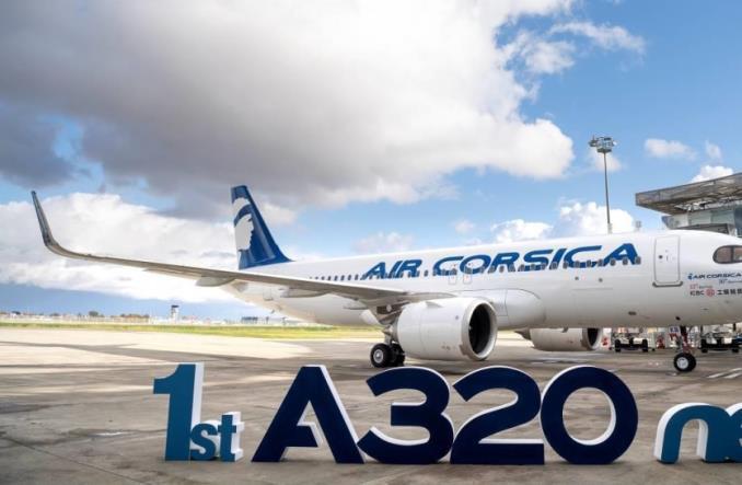 Первый A320neo для Air Corsica