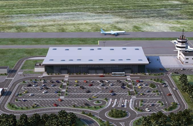 Аэропорт в Бакэу