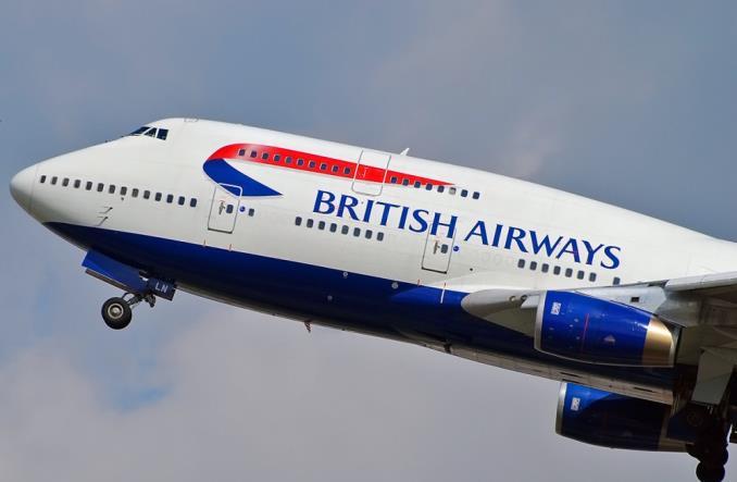 B747 British Airways