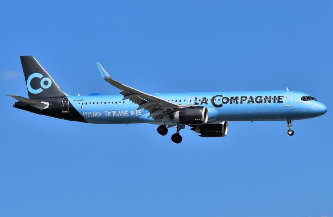 AirbusA321 авиакомпании  La Compagnie