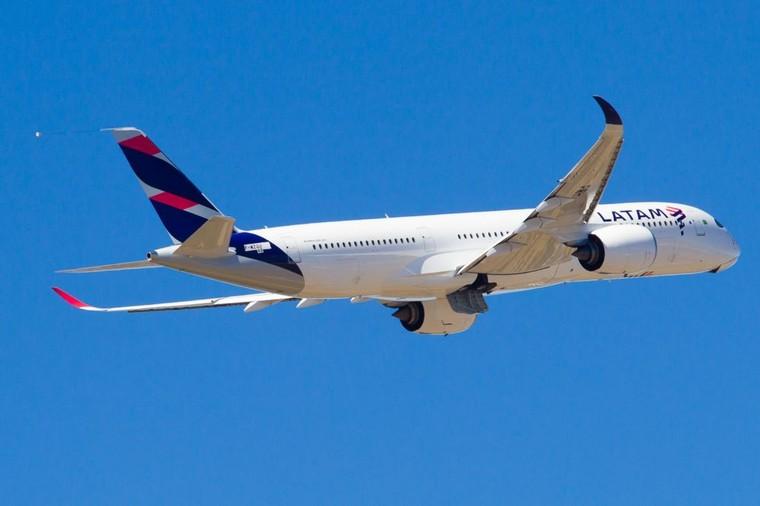 A350XWB авиакомпании Latam Airlines