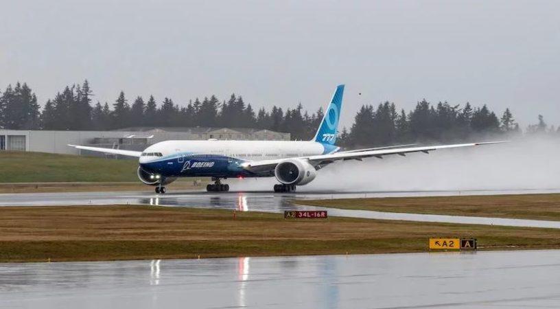 Долгожданный первый полет самолета Boeing 777X