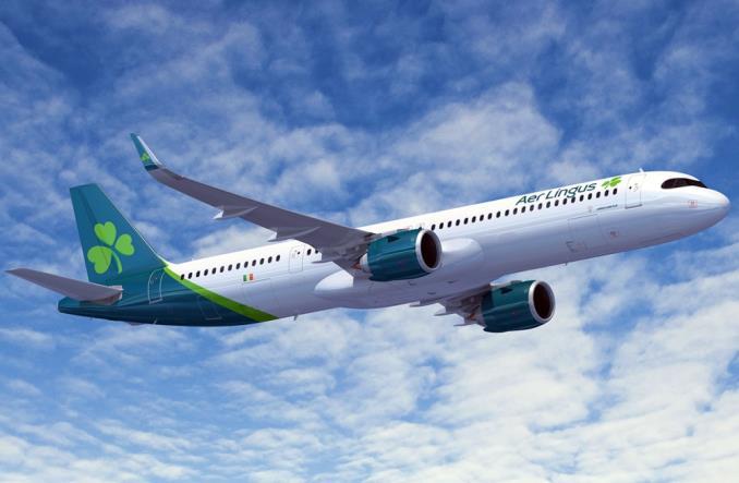 A321XLR Авиакомпании AerLingus