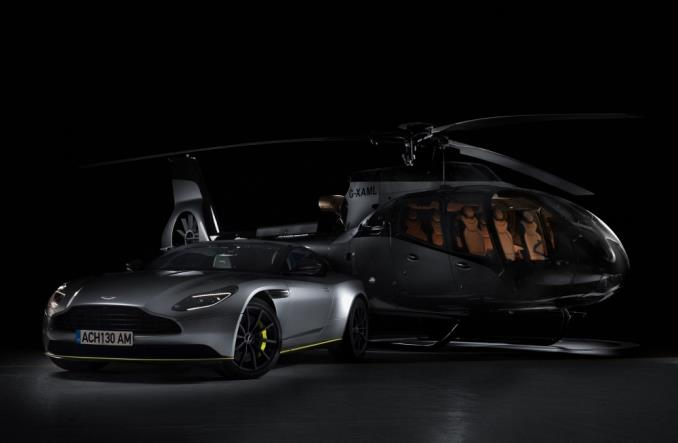 Airbus Helicopters и Aston Martin показали специальную версию ACH130