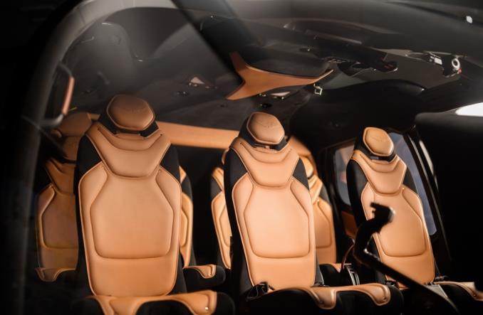 Интеррьер ACH130 Aston Martin