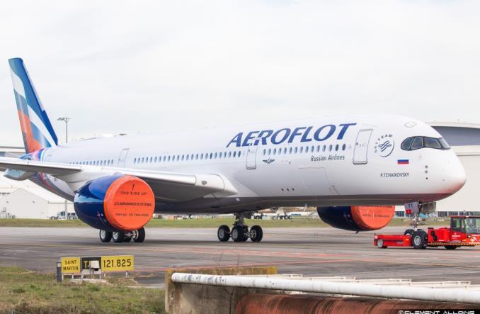Новый A350 для Аэрофлота