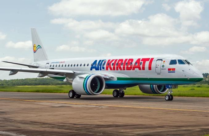 Embraer E190-E2 нового поколения для Air Kiribati