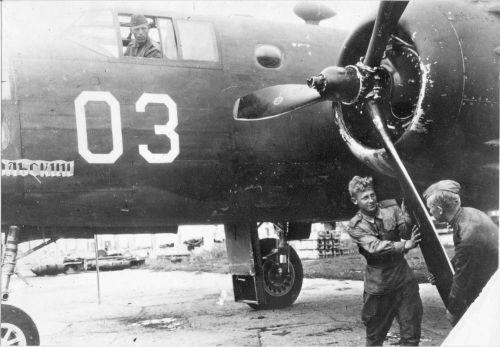 Бомбардировщик B-25 Mitchell