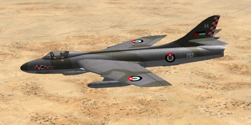 Hawker Hunter иорданских ВВС