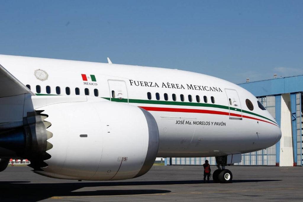 B787 Dreamliner президента Мексики