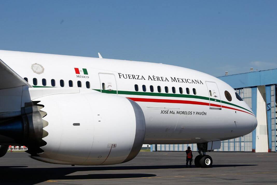 Самолет президента Мексики можно выиграть в лотерею