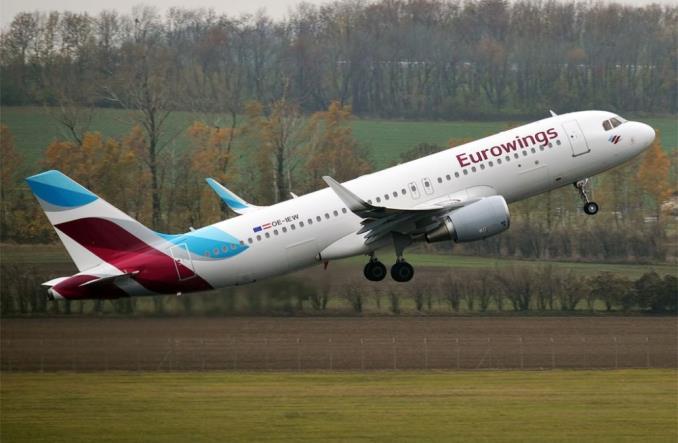 Eurowings возобновит авиасообщение между Косово и Сербией AirbusA320