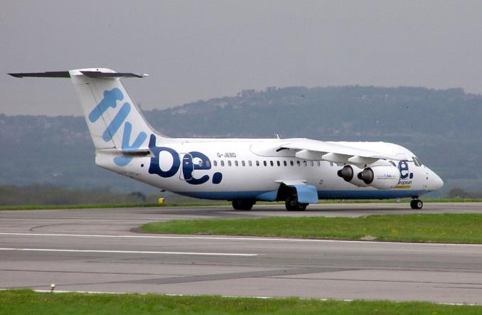 British Aerospace 146-300 компании Flybe