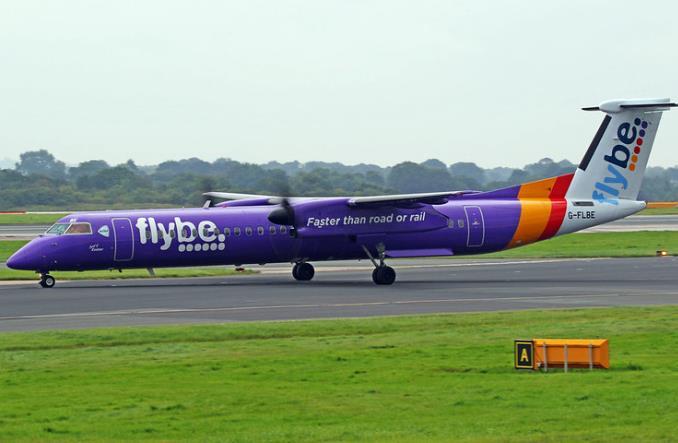 Q400 авиакомпании Flybe