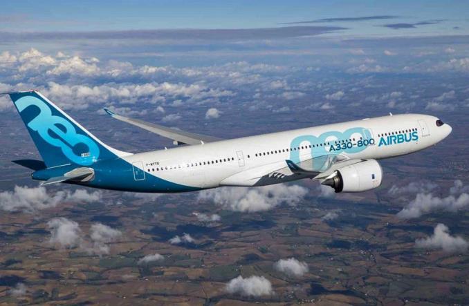 Airbus A330-800neo первый полет