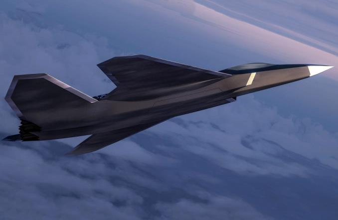 Визуализация Future Combat Air System