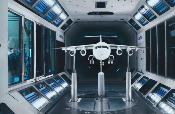 Fan-X  в аэродинамической трубе