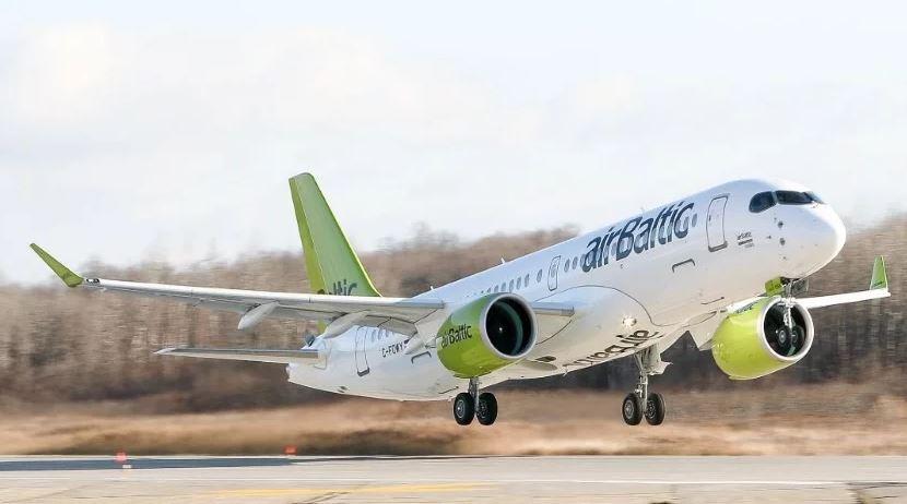 airBaltic сократит пропускную способность на 30%