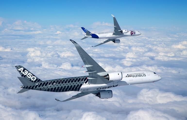 Версия A350 сертифицированная для полетов с одним двигателем в течение370 минут