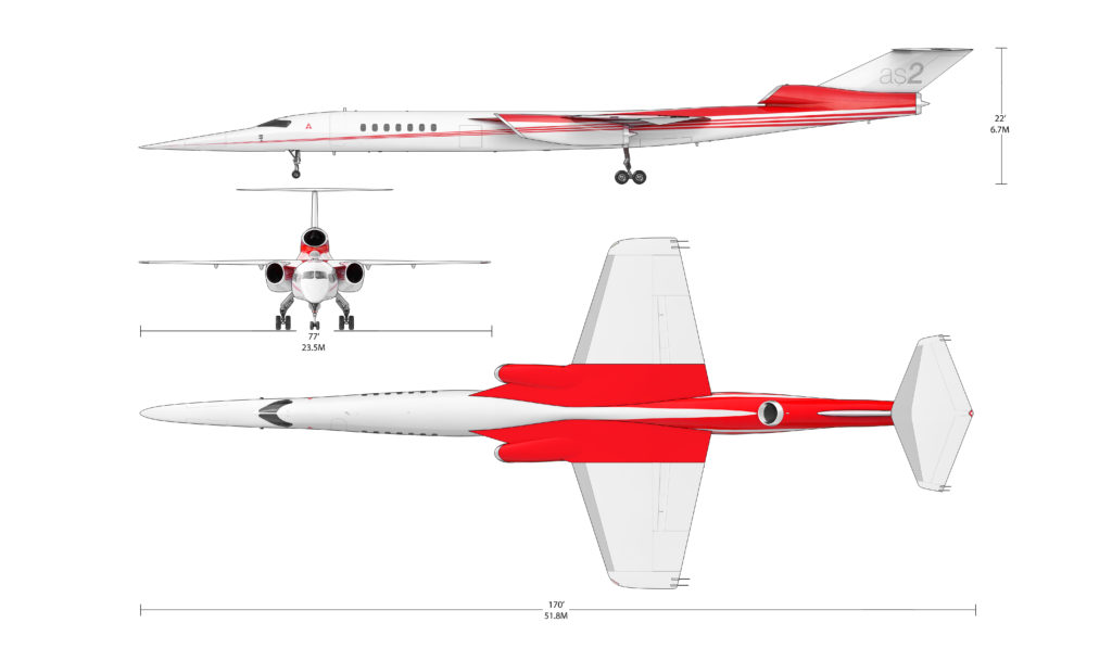Концепция сверхзвукового пассажирского самолета