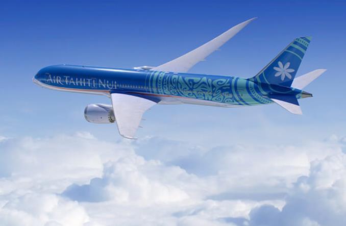 Авиалайнер Air Tahiti Nui
