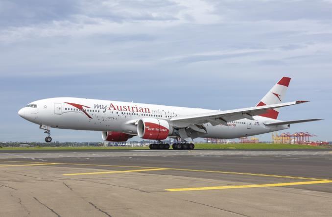 Boeing 777 компании Austrian Airlines