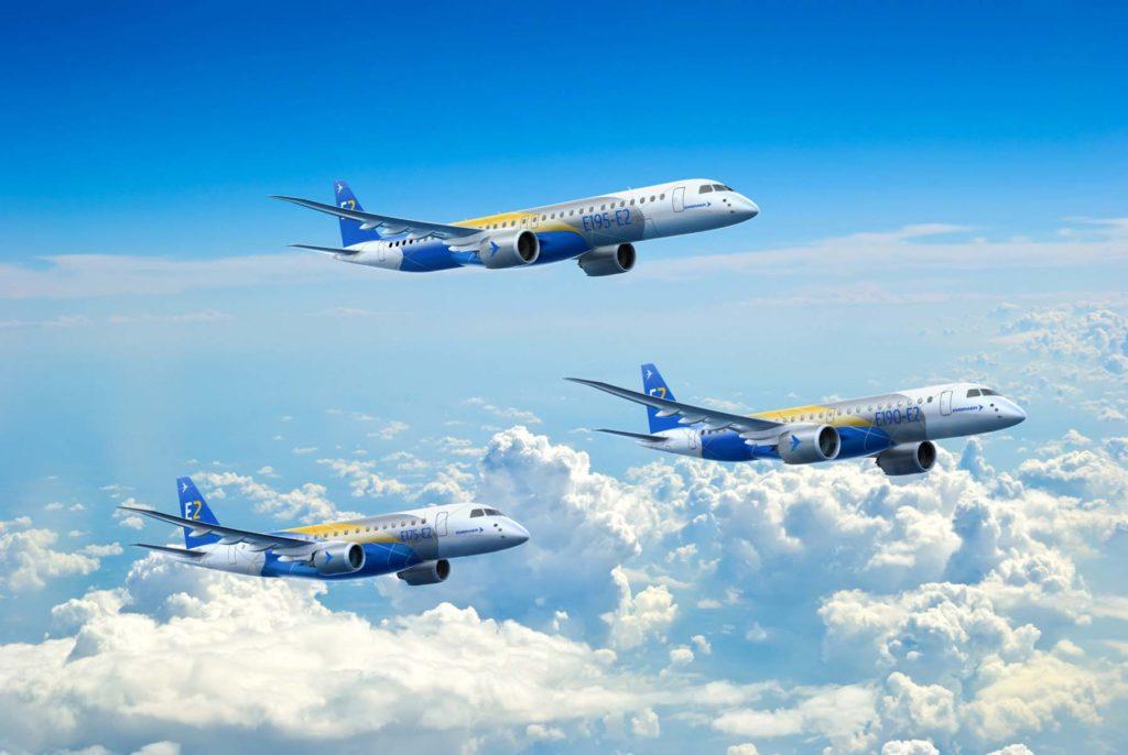 Семейство E-jet Embraer