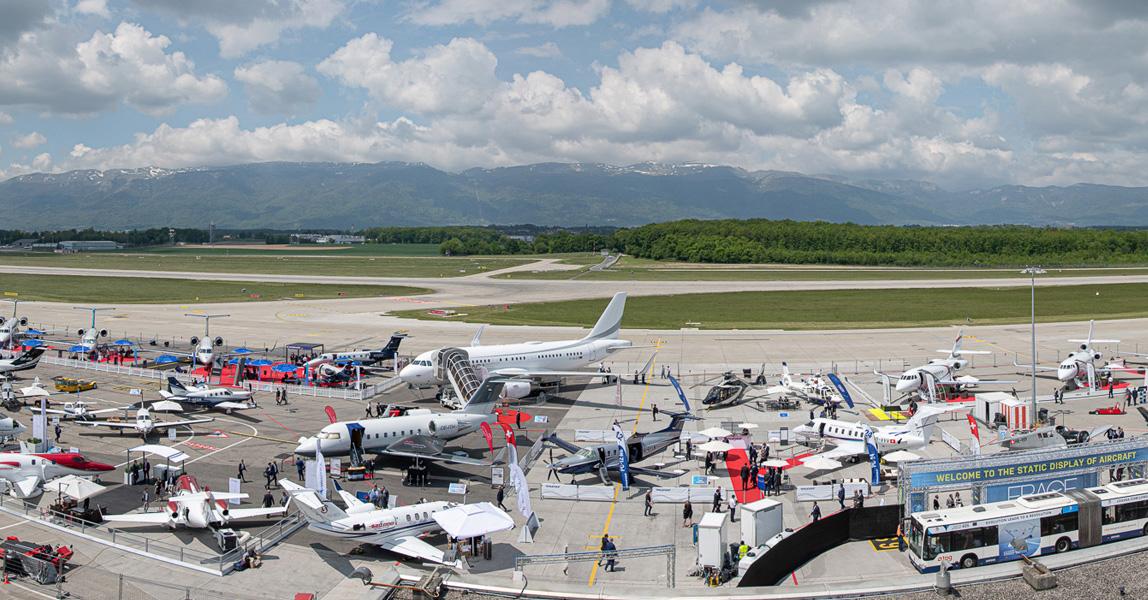 Европейский саммит и выставка деловой авиации в этом году вновь отменяется