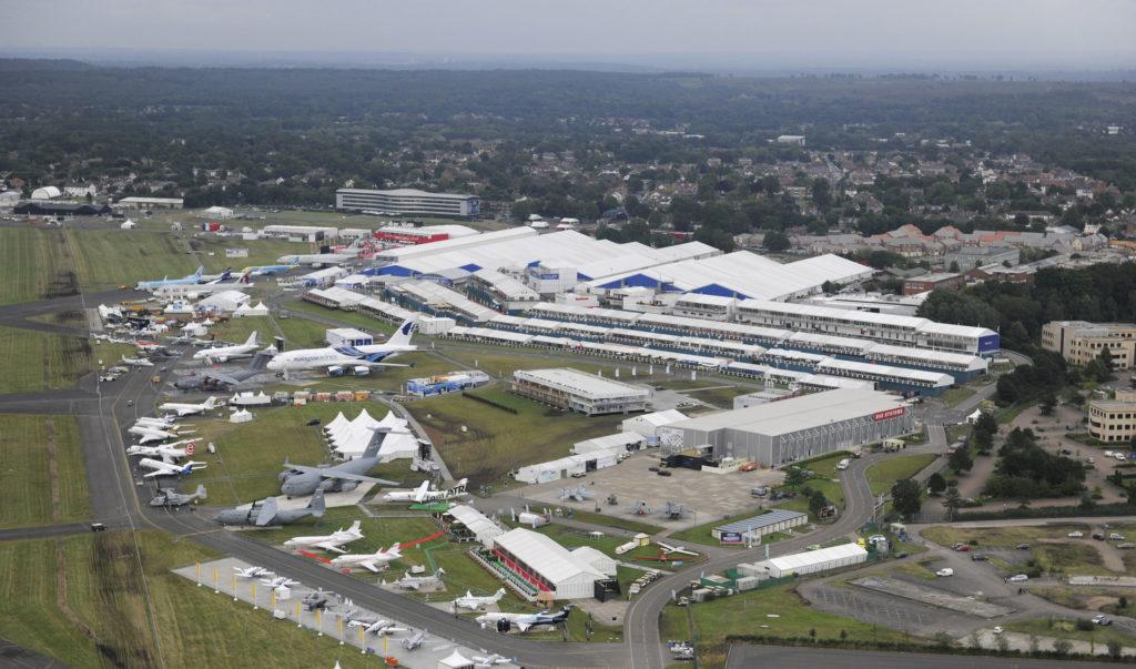 Авиасалон Фарнборо прошлых лет