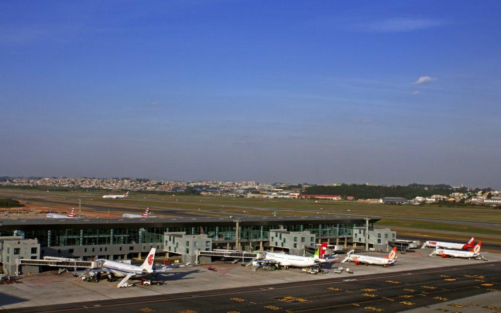 Аэропорт Гуарульюс, Сан-Паулу