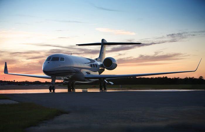 Gulfstream G650ER Илона Маска