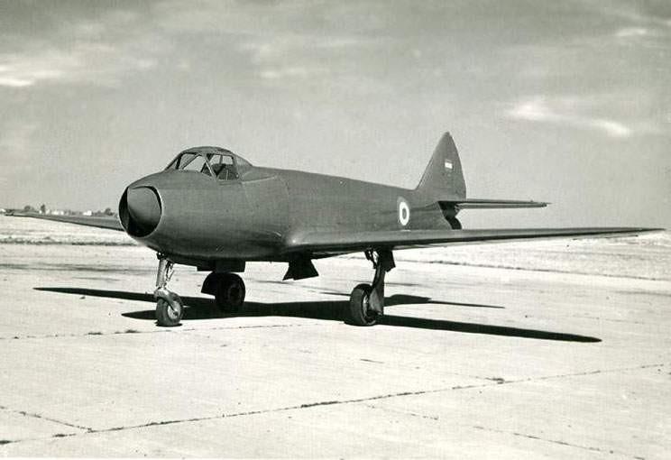 I.Ae. 27 Pulqui  - первый реактивный самолет, разработанный вЛатинской Америке