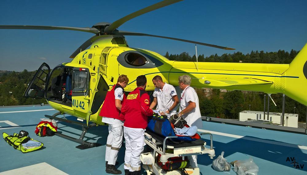 Медицинская авиация на Мальте