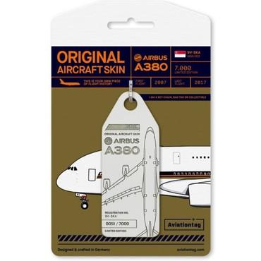 Багажная бирка, изготовленная из материалов от A380