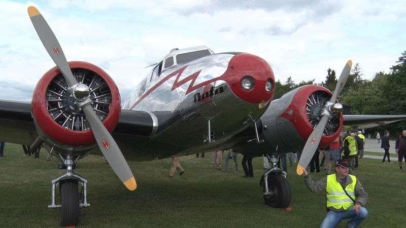 Исторический самолет Lockheed Electra 10A основателя Seznam.cz