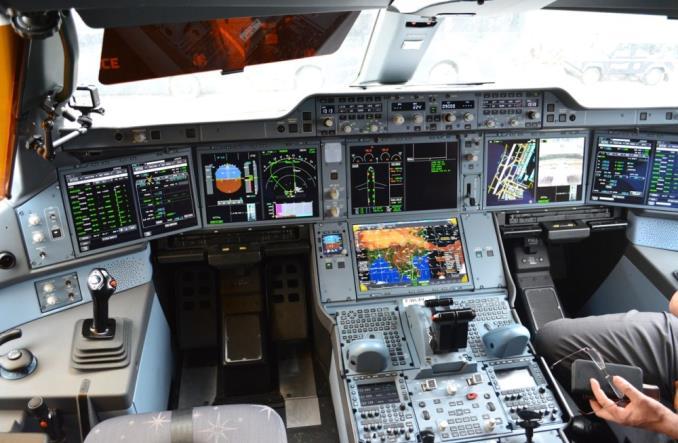 Центральная консоль A350