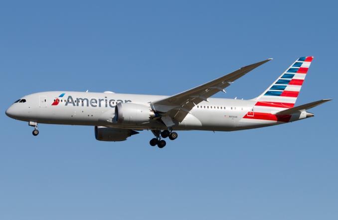 Boeing 7878 Dreamliner авиакомпании American Airlines