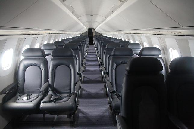 Пассажирский салон Concorde