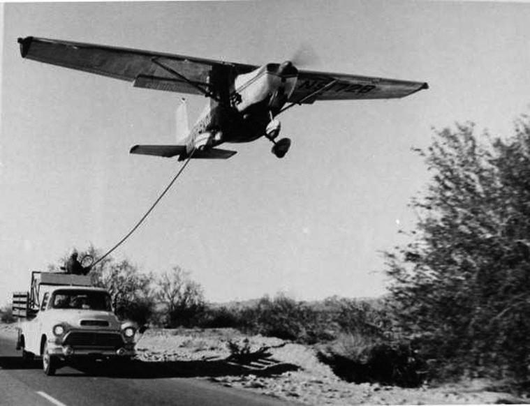 Дозаправка самолета в воздухе