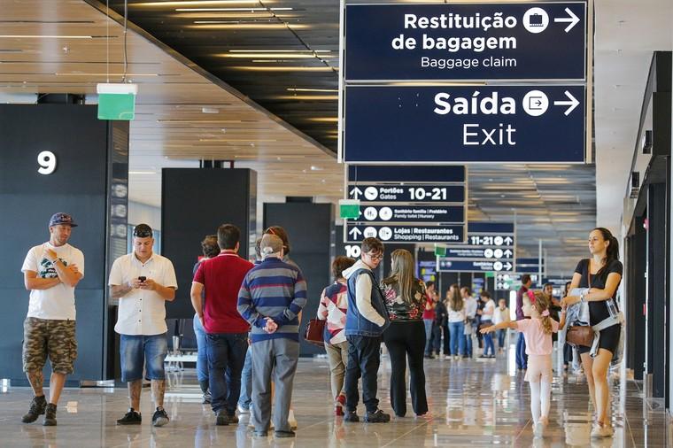 Международный аэропорт Флорианополис эвакуация из Бразилии