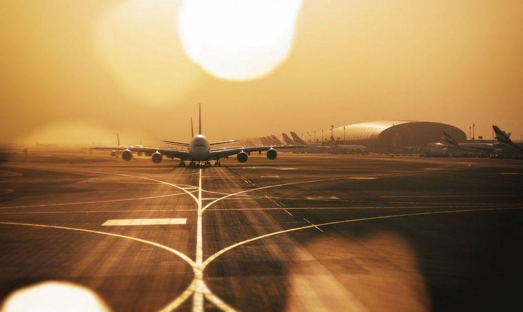 Траурная процессия из самолетов
